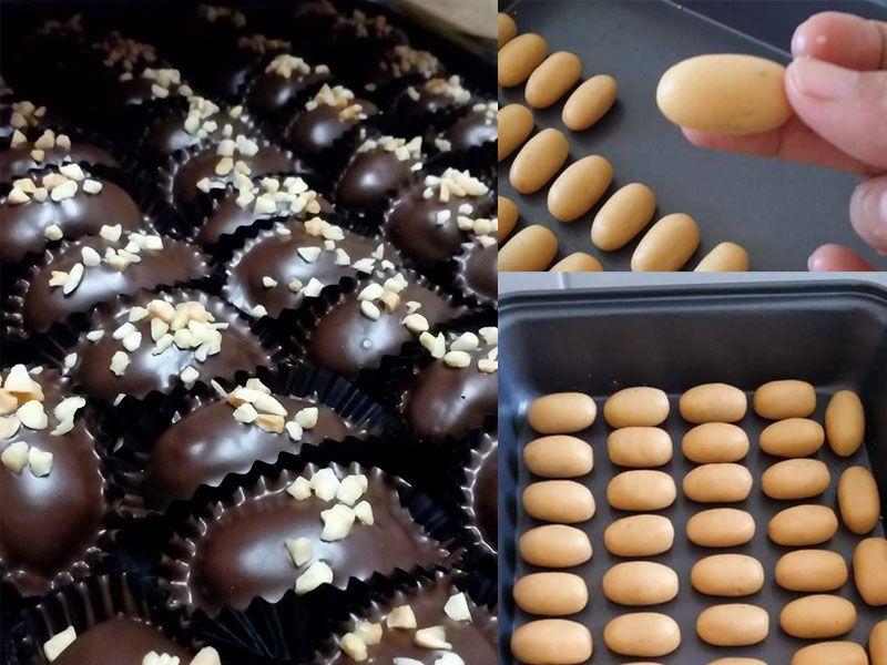 nastar coklat