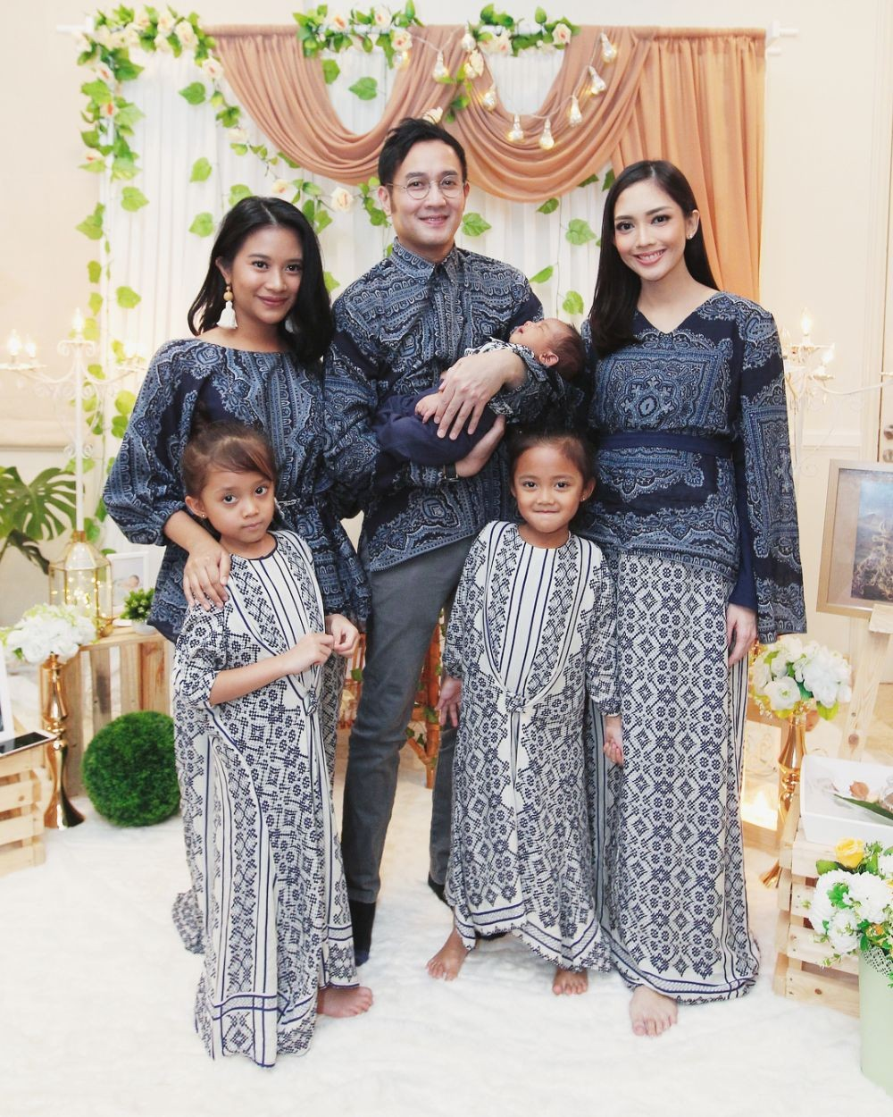 baju couple batik keluarga