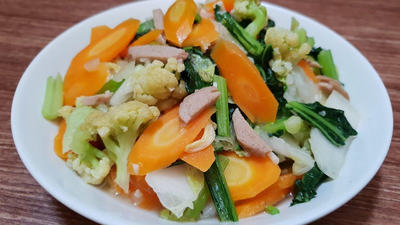 Resep Masakan Sehat Capcay
