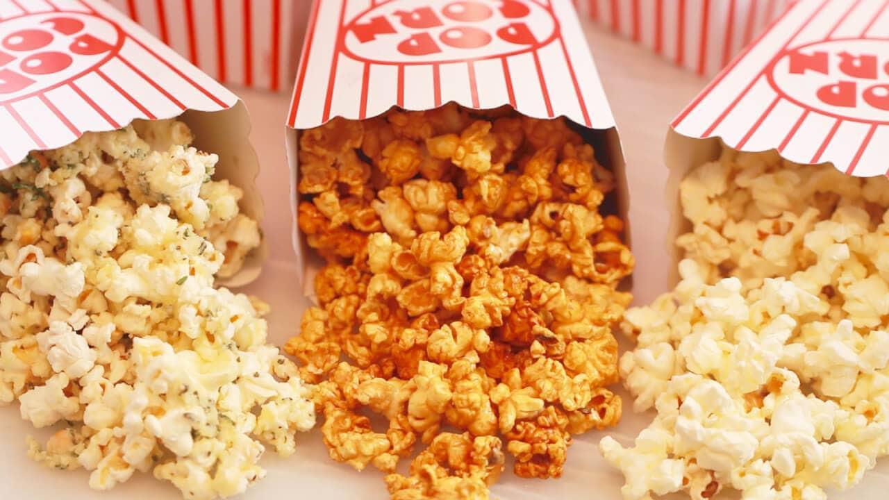 cara membuat popcorn caramel dengan microwave