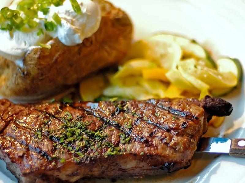 cara membuat steak sapi saus tiram
