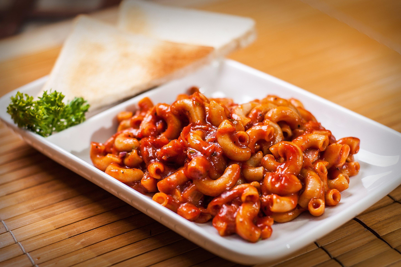resep pasta makaroni saus pedas