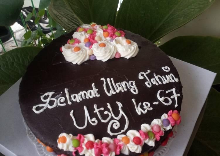 Resep Kue Tart Coklat
