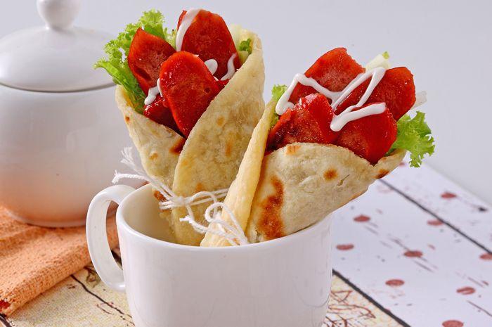 cara bikin kebab sosis mini