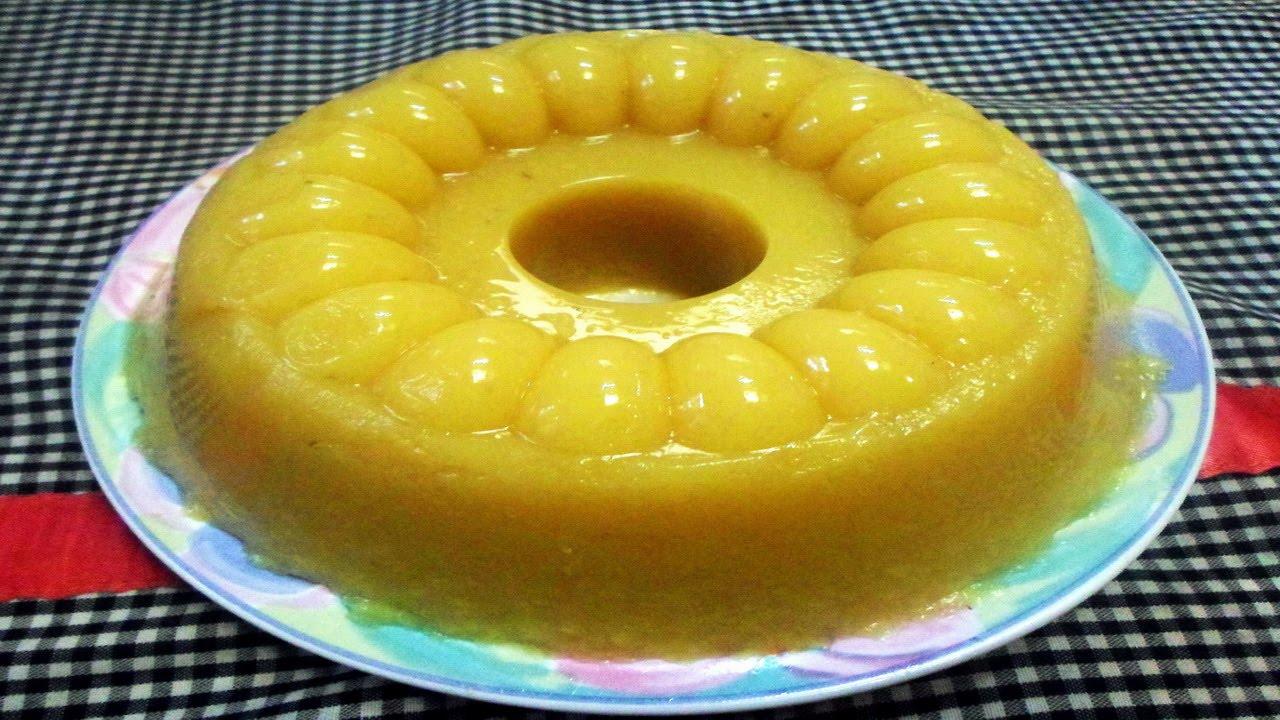 Cara Membuat Pudding Pisang