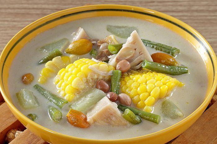 resep sayuran berkuah santan