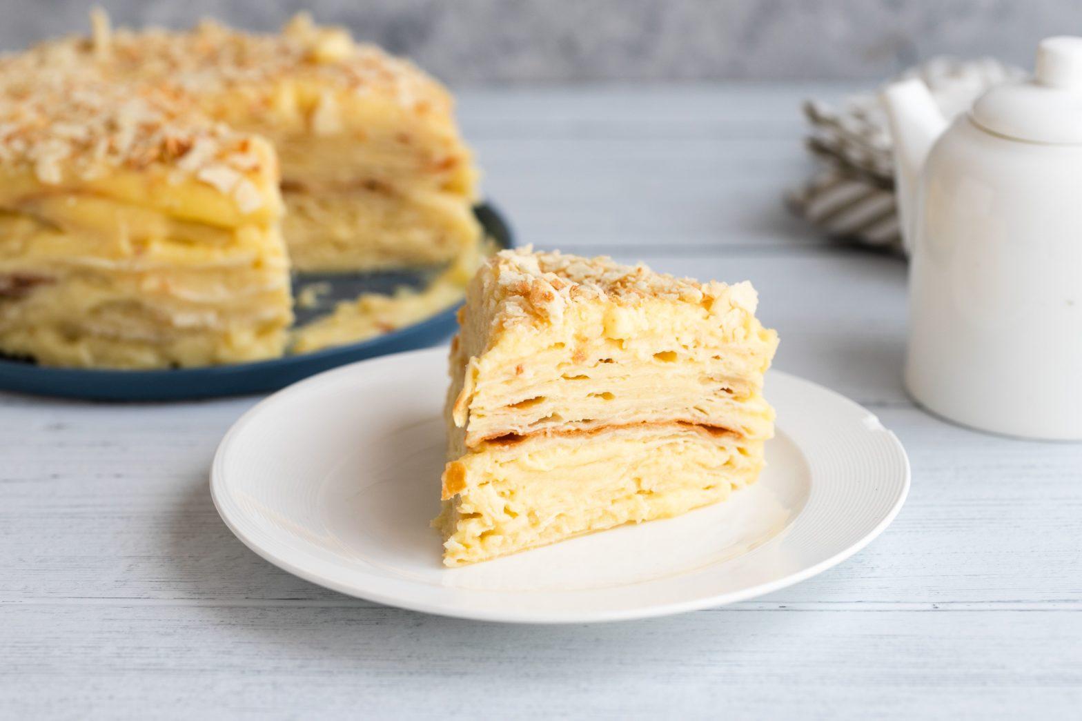 cara membuat napoleon cake
