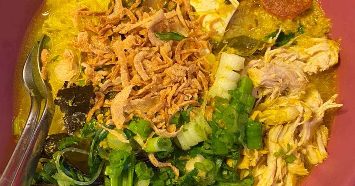 resep soto ayam kuning bogor