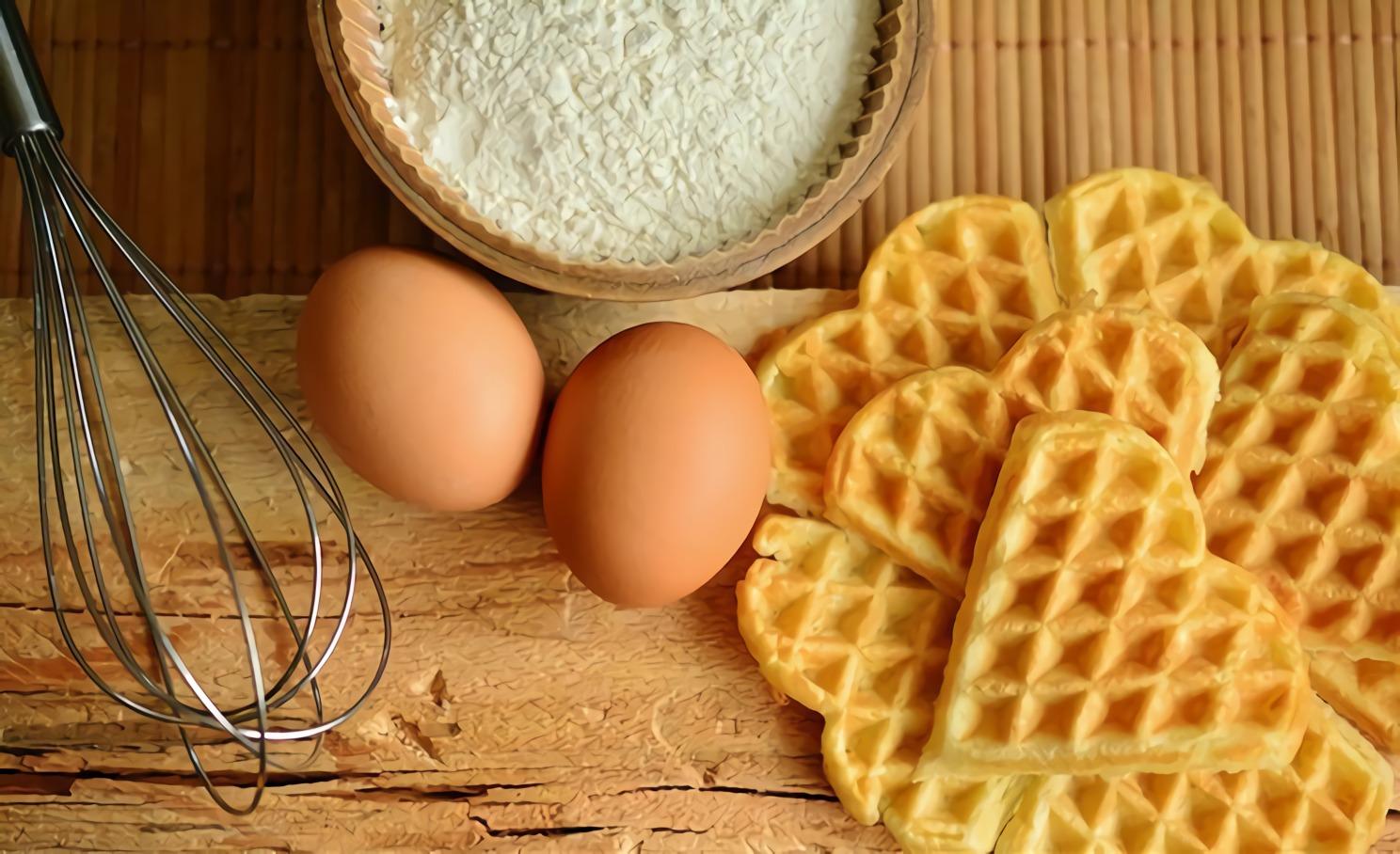 cara membuat waffle tanpa cetakan - cara membuat