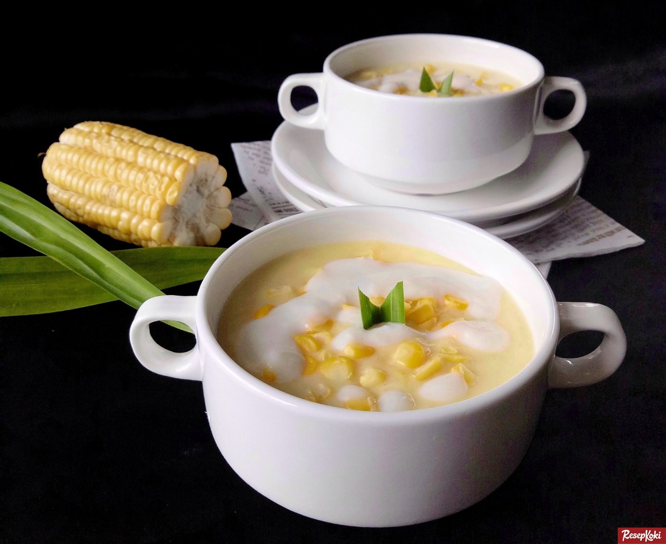 cara memasak bubur jagung