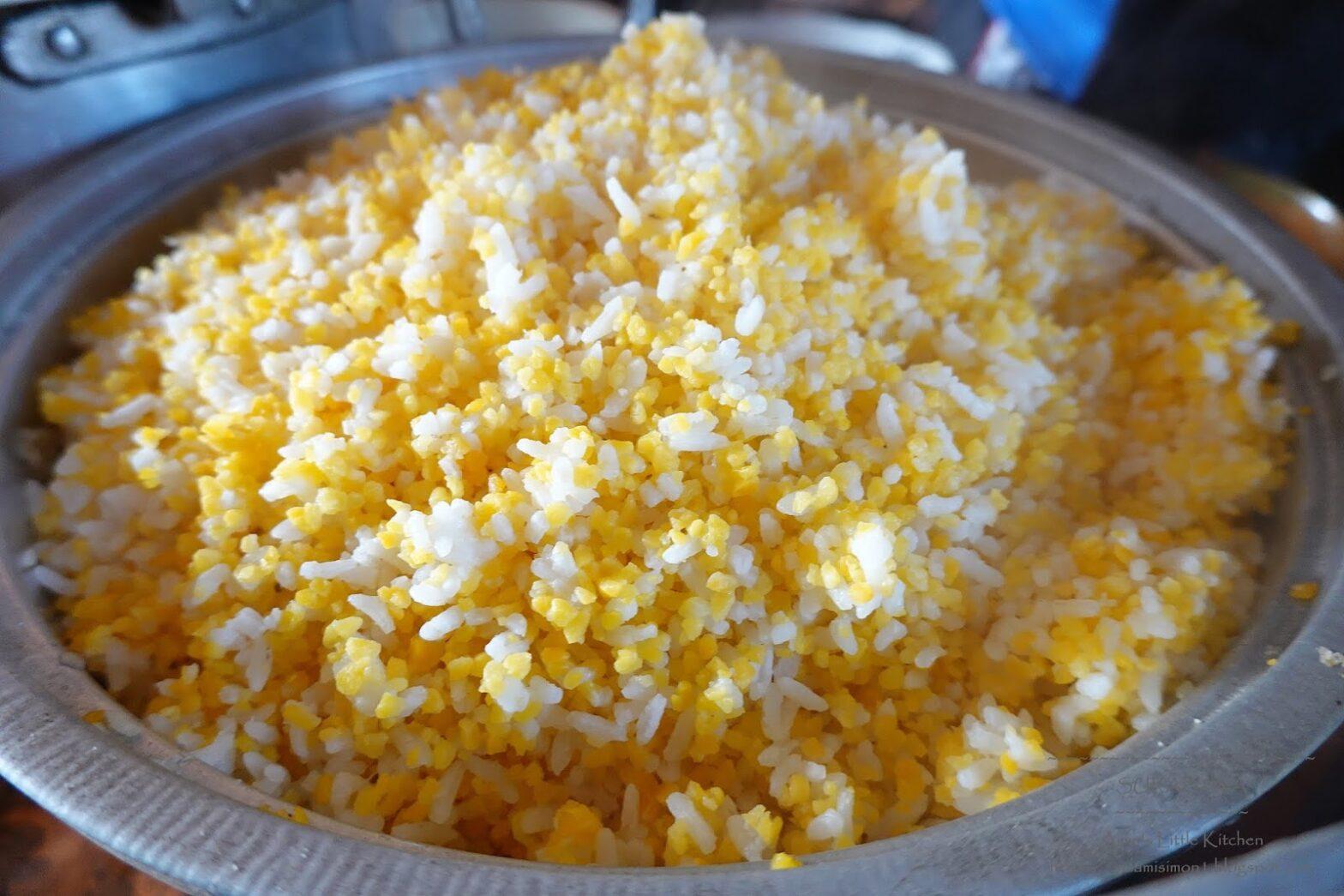 cara memasak nasi jagung dengan magic com