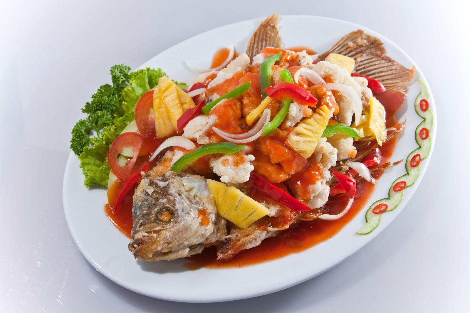 Resep Masakan Minang Ikan Cuka Gurami